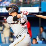 坂本勇人 32試合連続出塁
