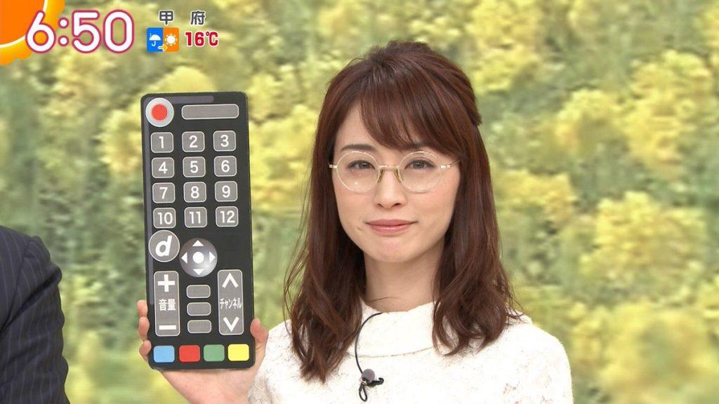 新井恵理那 メガネ