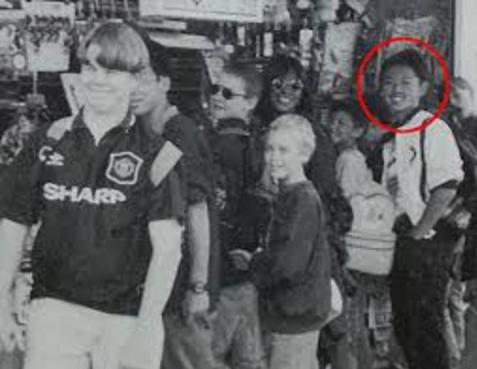 金正恩 若い頃の写真